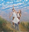 Simon Pasieka Arc en Ciel